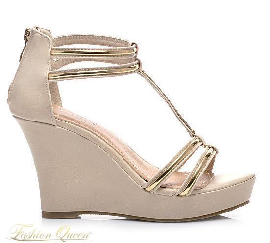 5f5f11ab23 Fashion Queen - Dámske oblečenie a móda - Sandále na platforme