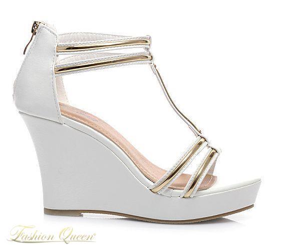 Fashion Queen - Dámske oblečenie a móda - Sandále na platforme d2b2562d24d