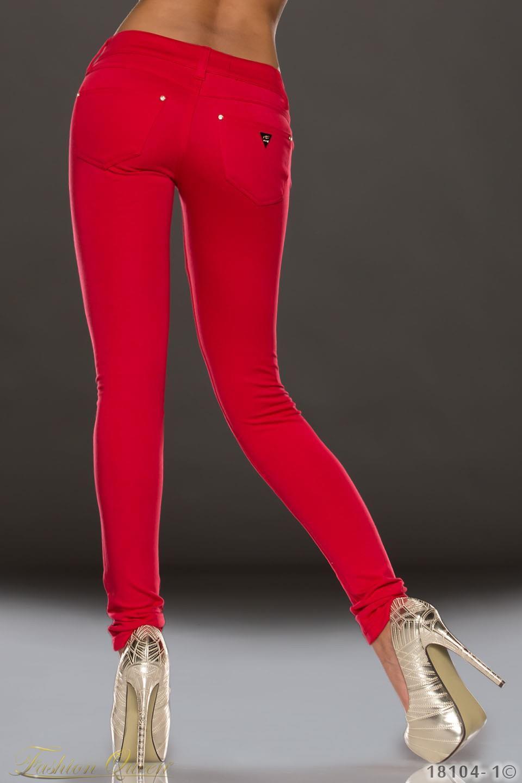 e7e781565939 Fashion Queen - Dámske oblečenie a móda - Červené nohavice