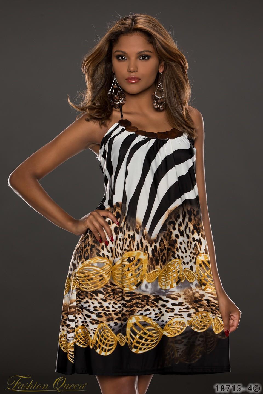 fe19c78b36b2 Fashion Queen - Dámske oblečenie a móda - Letné šaty s potlačou