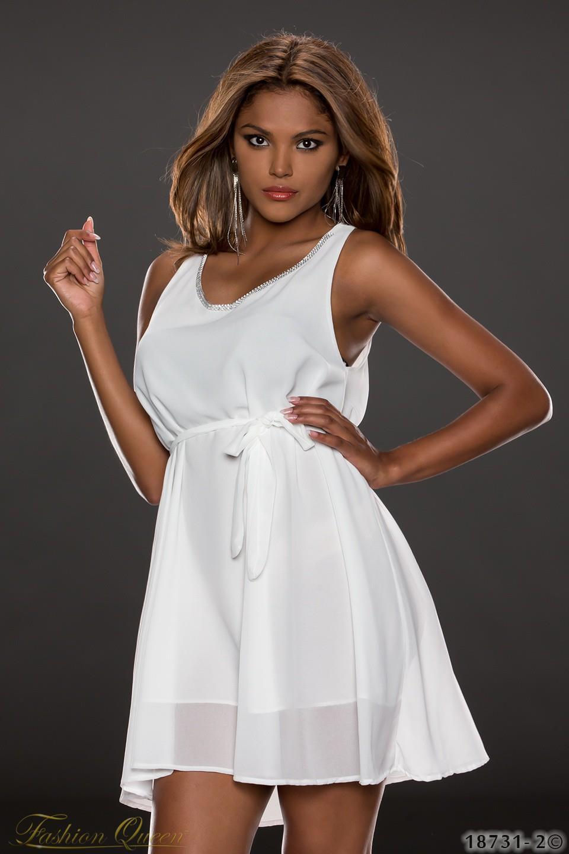Fashion Queen - Dámske oblečenie a móda - Letné šaty jednofarebné 88bb86c7db2