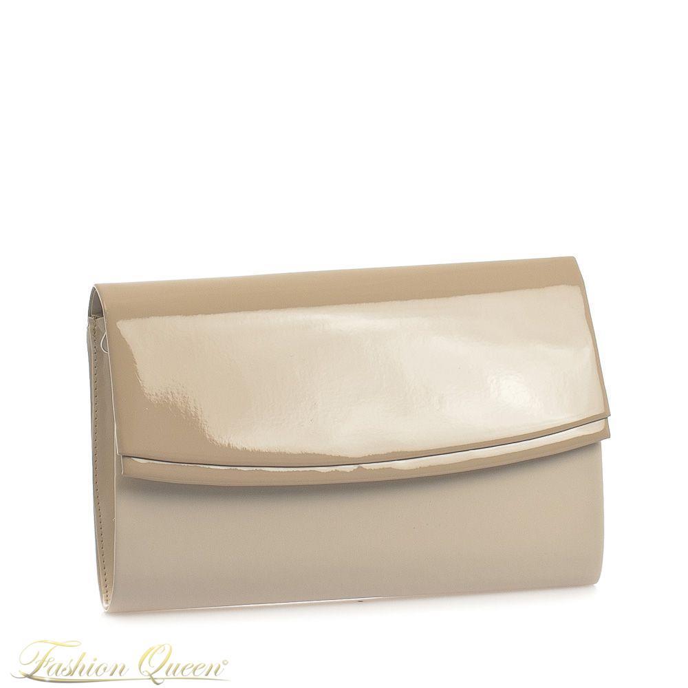 Fashion Queen - Dámske oblečenie a móda - Béžová listová kabelka a1ae30c98e6