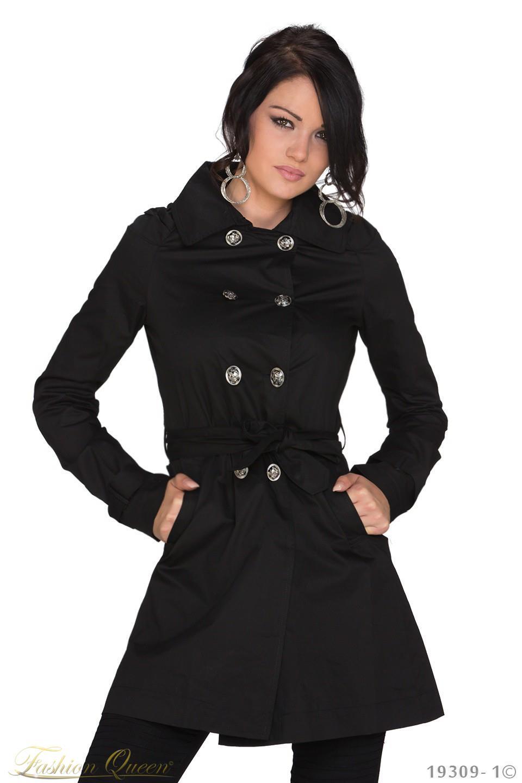 Fashion Queen - Dámske oblečenie a móda - Prechodný kabát 88a57b32560