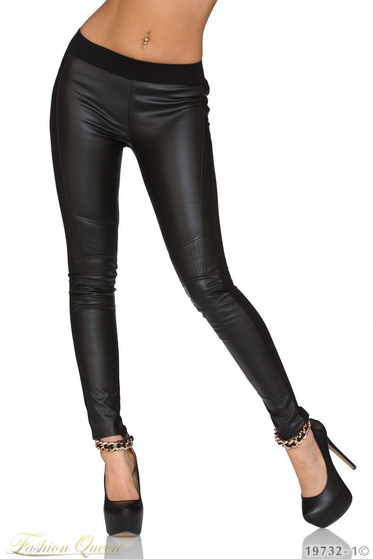 ed2a064171d7 Fashion Queen - Dámske oblečenie a móda - Kožené legíny