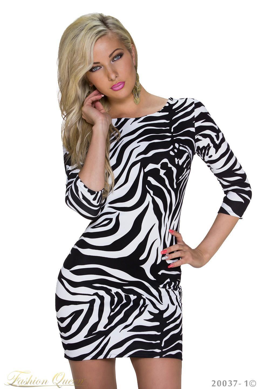 e04320787b9c Fashion Queen - Dámske oblečenie a móda - Šaty s ¾ rukávom