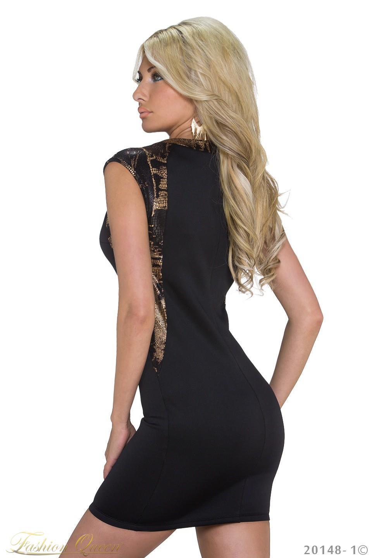 89dd4a43217a Fashion Queen - Dámske oblečenie a móda - Čierne minišaty