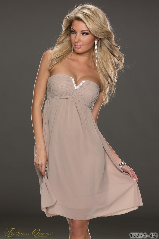 f8495c991758 Fashion Queen - Dámske oblečenie a móda - Šaty bez ramienok