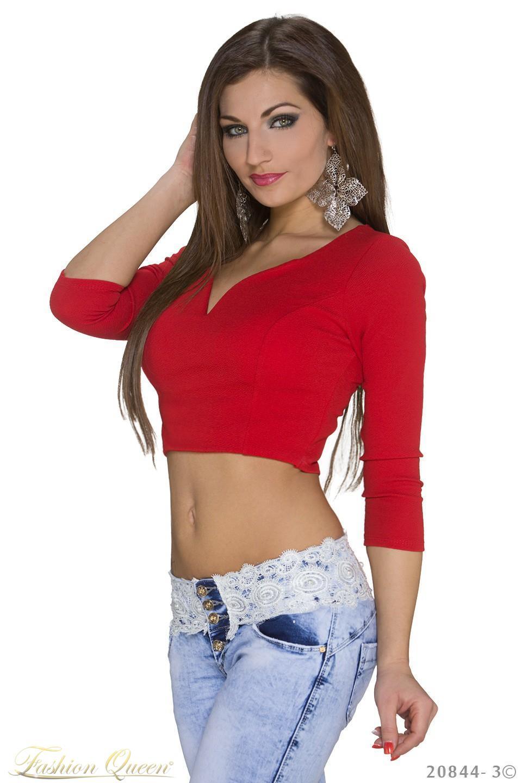 419f8c027f64 Fashion Queen - Dámske oblečenie a móda - Krátke tričko