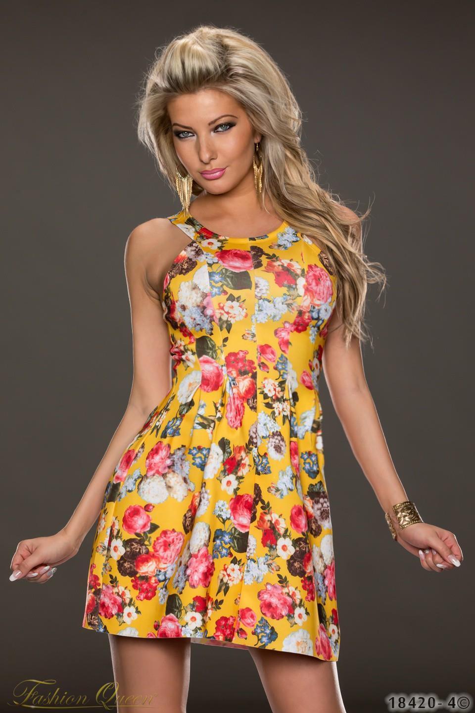 d97a7168b Fashion Queen - Dámske oblečenie a móda - Kvetované šaty