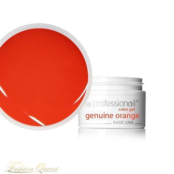 Farebný UV gél 5ml Professionail Geniune Orange