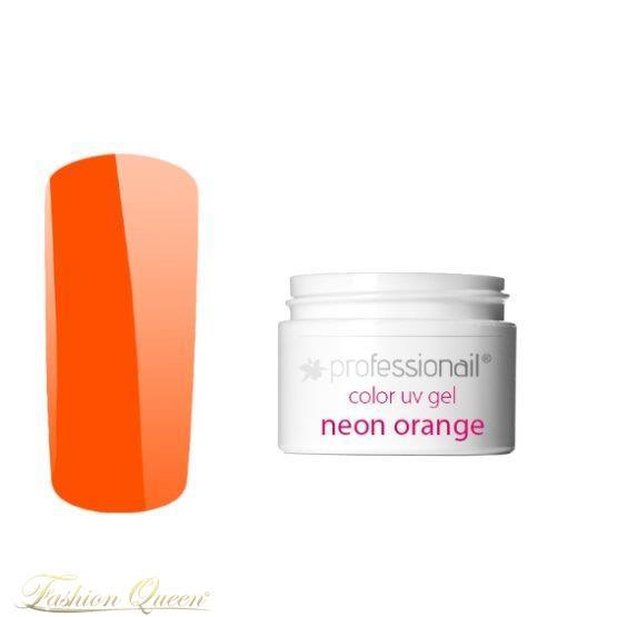 Farebný UV gél 5ml Professionail Neon Orange