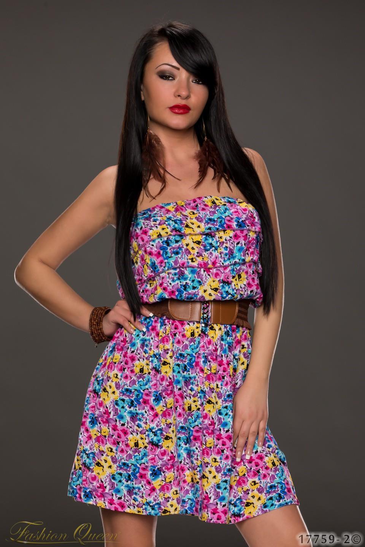 24ebb87c9772 Fashion Queen - Dámske oblečenie a móda - Letné kvietkované šaty