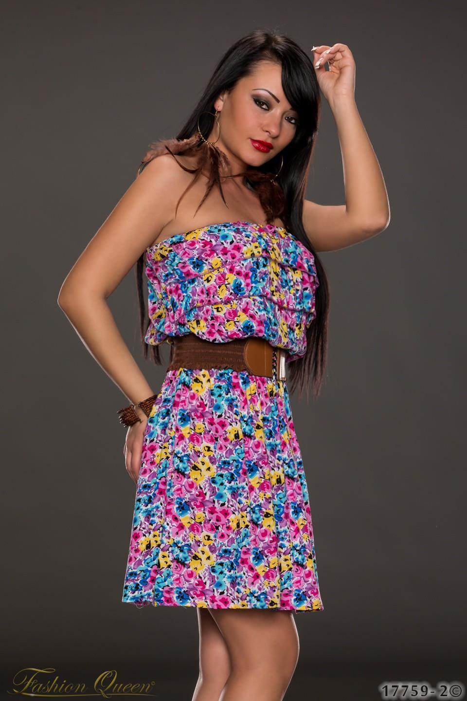 b12bf5c65698 Fashion Queen - Dámske oblečenie a móda - Letné kvietkované šaty