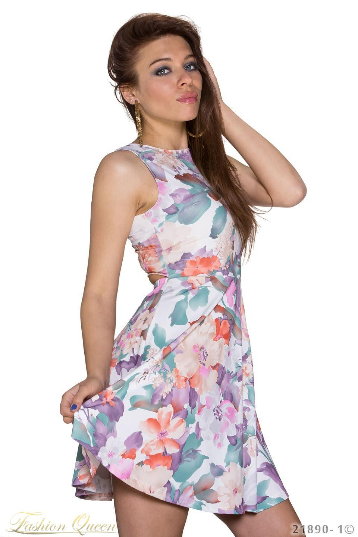dc036cc6380a Fashion Queen - Dámske oblečenie a móda - Kvetované letné šaty