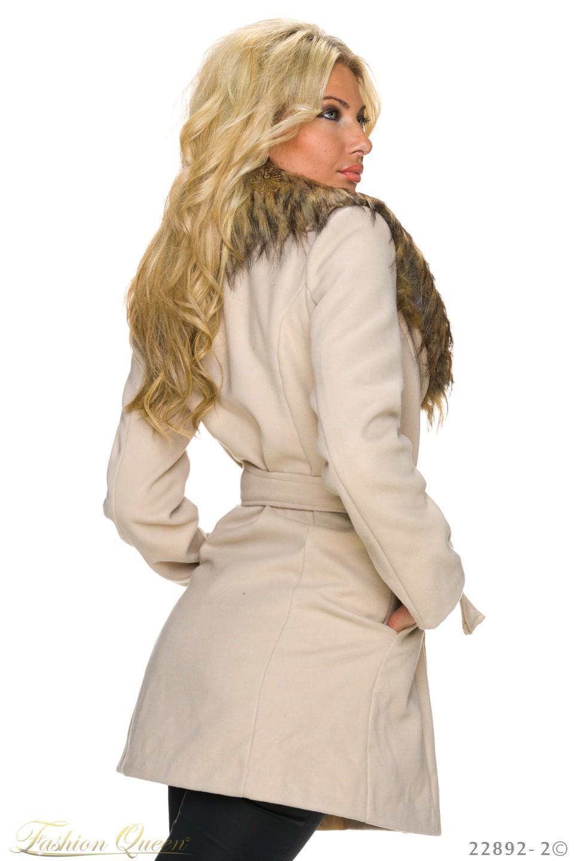 a5abf6a5d8 Fashion Queen - Dámske oblečenie a móda - Zimný kabát s kožušinou