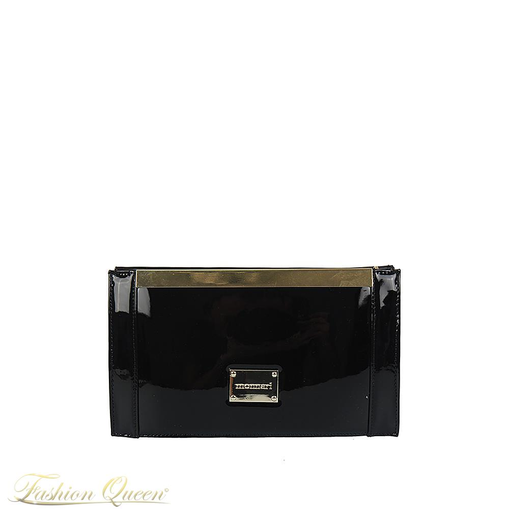 Lesklá listová kabelka