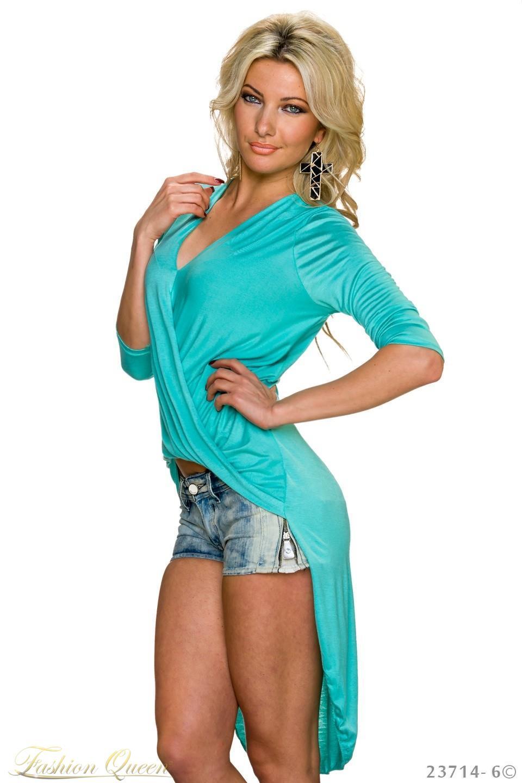 86792be30861 Fashion Queen - Dámske oblečenie a móda - Asymetrické tričko