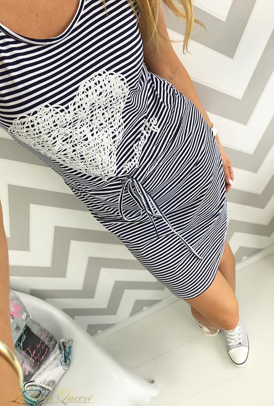 03132d95d839 Fashion Queen - Dámske oblečenie a móda - Námornícke šaty