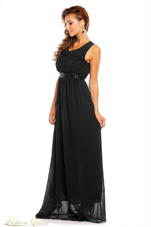 692a3f21c1ea Fashion Queen - Dámske oblečenie a móda - Maxi šaty čierne