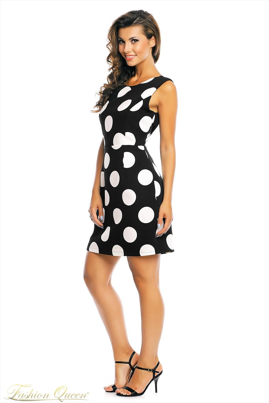 dd3b85cba Fashion Queen - Dámske oblečenie a móda - Bodkované šaty
