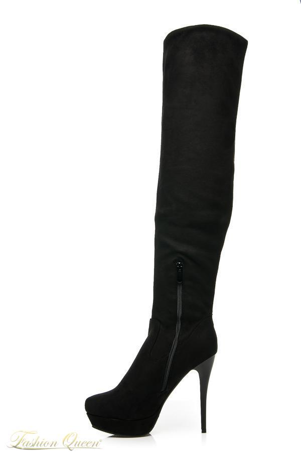 9320615f96 Fashion Queen - Dámske oblečenie a móda - Čižmy nad kolená