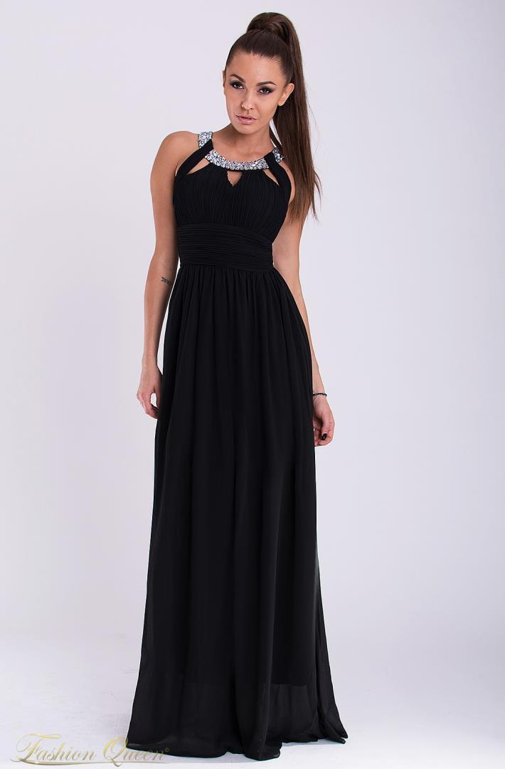 63dbbb8b1698 Spoločenské šaty s kamienkami