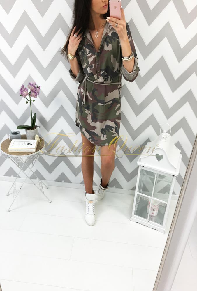 9fd1afa8a95a Fashion Queen - Dámske oblečenie a móda - Maskáčové šaty
