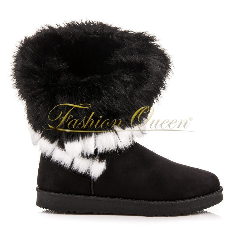 Fashion Queen - Dámske oblečenie a móda - Snehule s kožušinou dae8dcf6b90