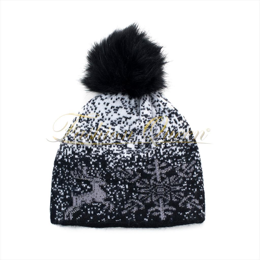 Zimná čiapka so vzorom
