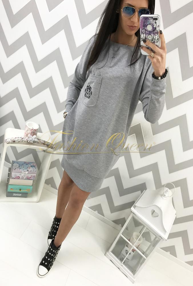 72a33501f Fashion Queen - Dámske oblečenie a móda - Oversize šaty s vreckami
