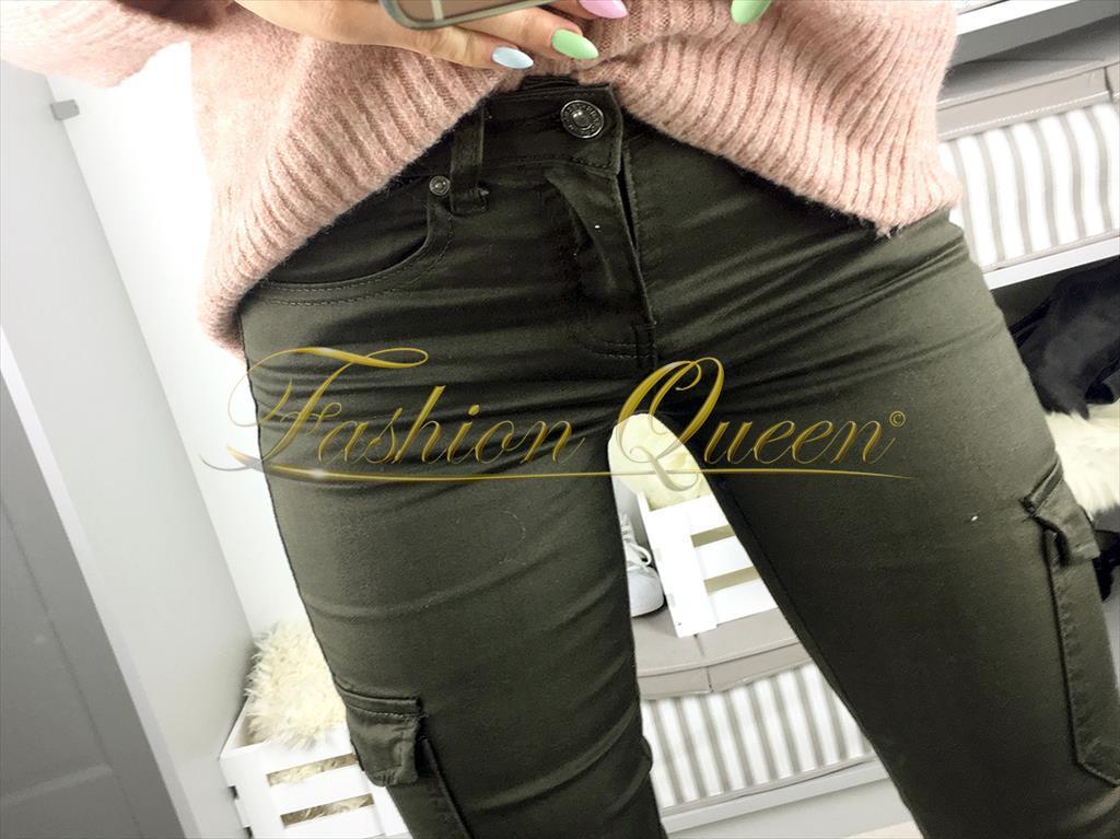 3e1f9e3cea17 Fashion Queen - Dámske oblečenie a móda - Kaki nohavice