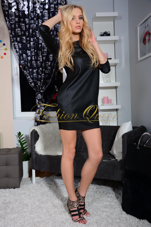 0f3778bd65c2 Fashion Queen - Dámske oblečenie a móda - Koženkové šaty
