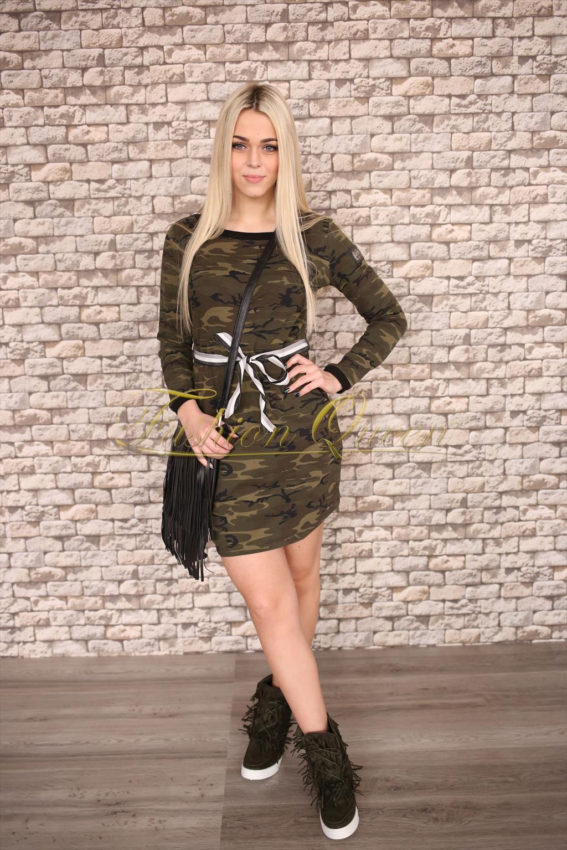 25cfbcdfc650 Fashion Queen - Dámske oblečenie a móda - Maskáčové minišaty