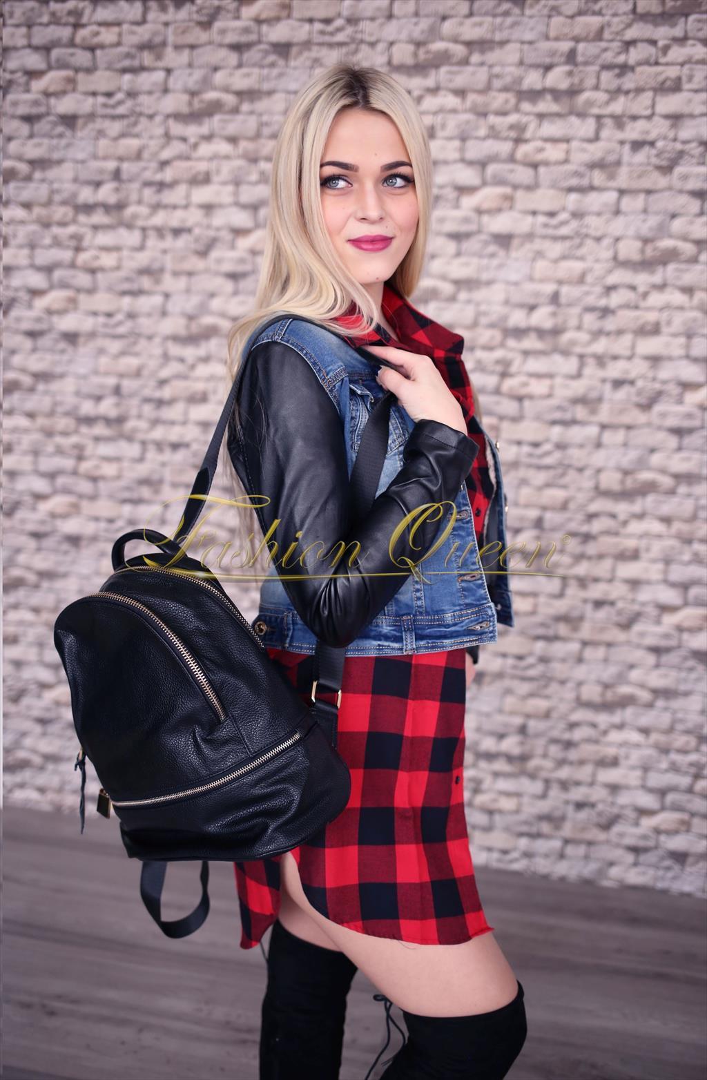 fe675000f59f Fashion Queen - Dámske oblečenie a móda - Dlhá károvaná košeľa