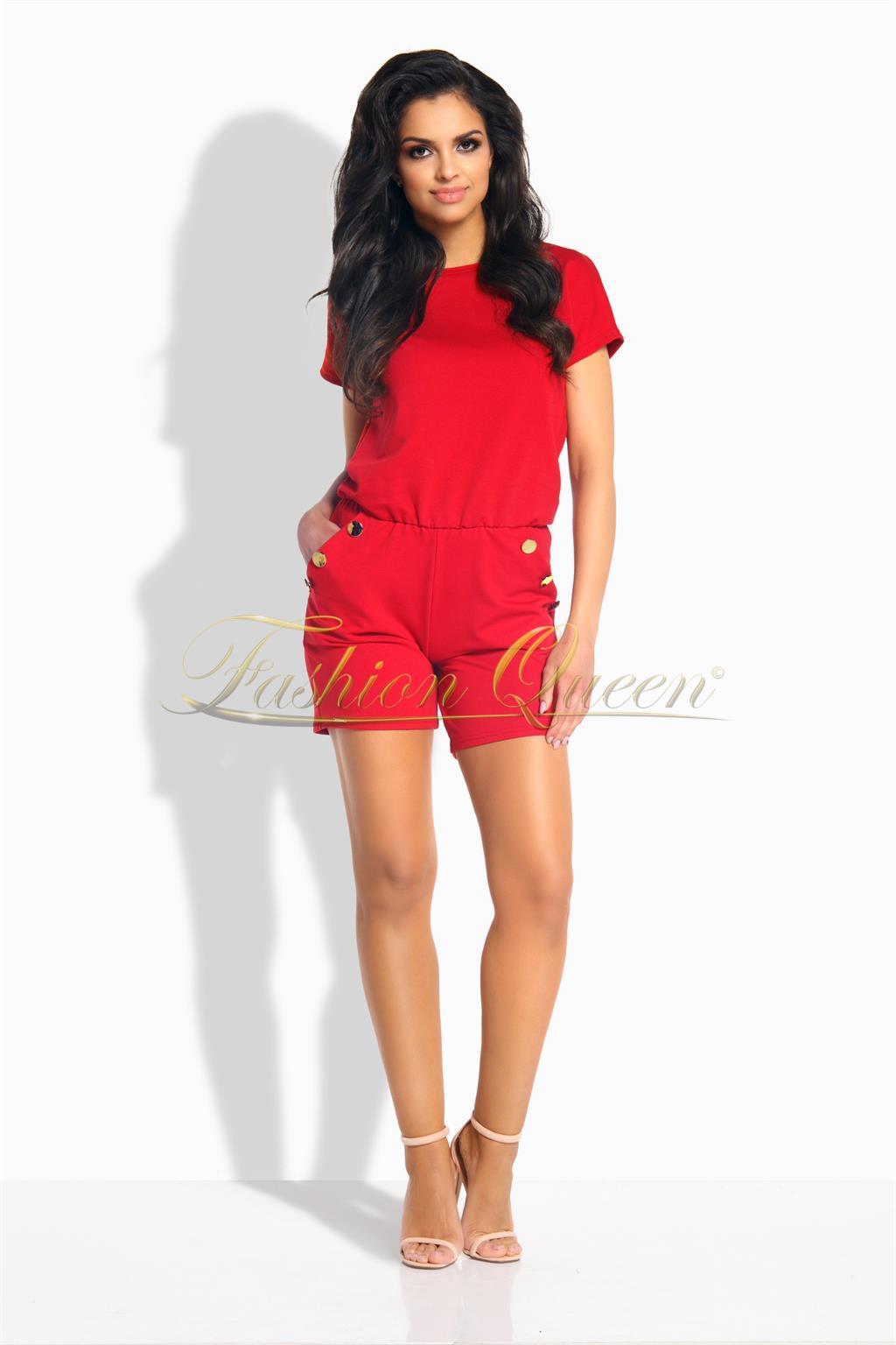 Fashion Queen - Dámske oblečenie a móda - Krátky overal 0629daed1d6