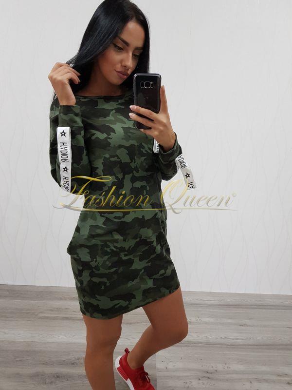 3fc2700de Fashion Queen - Dámske oblečenie a móda - Maskáčové šaty