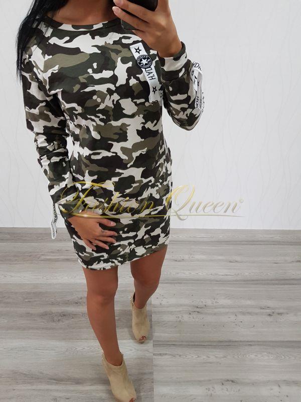 c1128ab4123c Fashion Queen - Dámske oblečenie a móda - Maskáčové šaty
