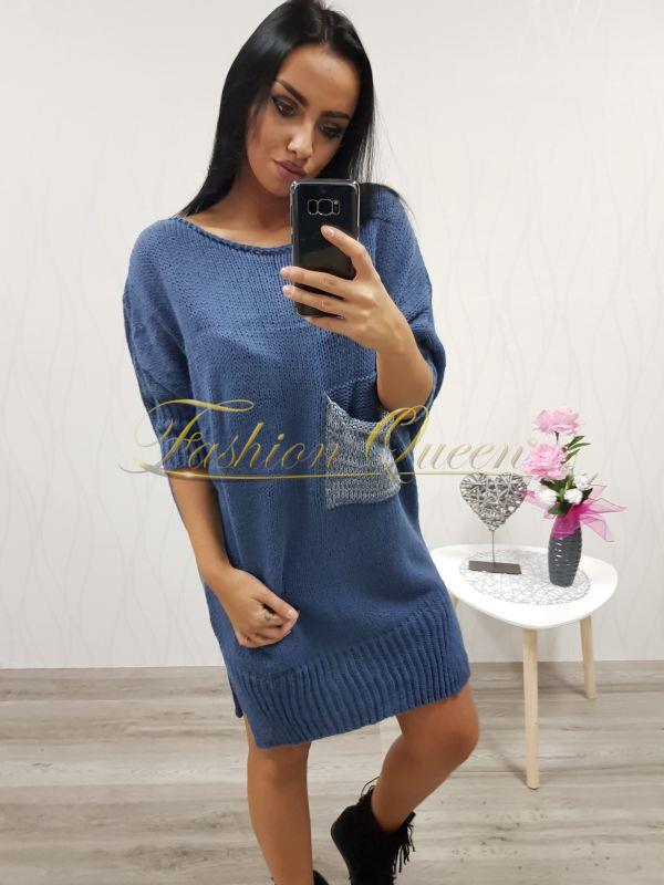 18015ec53680 Fashion Queen - Dámske oblečenie a móda - Oversize dlhý pulóver