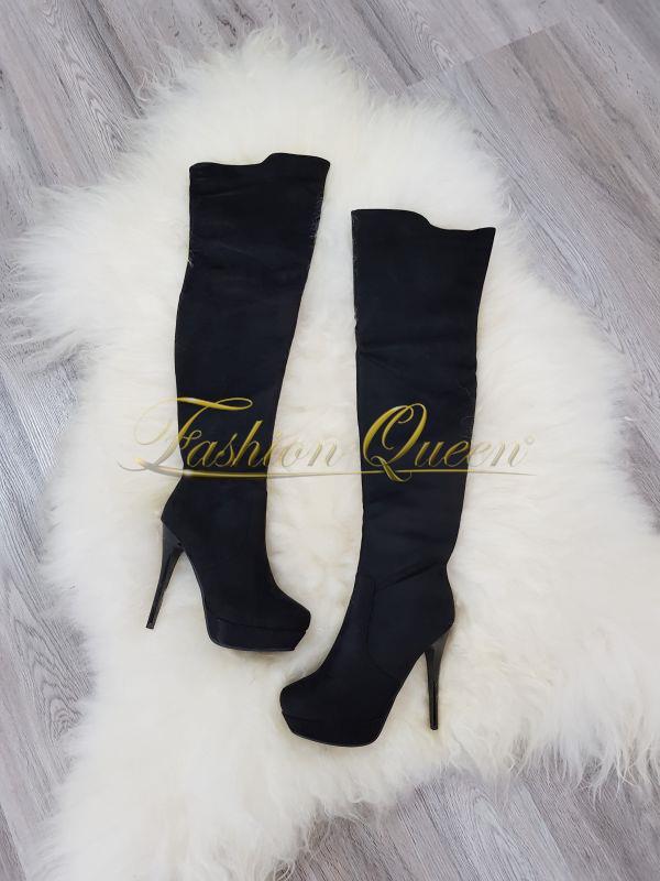 Luxusné čižmy nad kolená