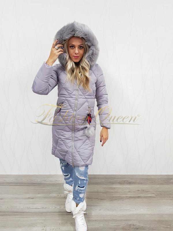 1b3111896b77 Fashion Queen - Dámske oblečenie a móda - Dlhá zimná vetrovka