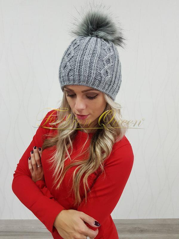 ea1287555 Fashion Queen - Dámske oblečenie a móda - Čiapka s brmbolcom