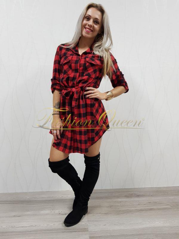 41b28c0e2564 Fashion Queen - Dámske oblečenie a móda - Kárované šaty