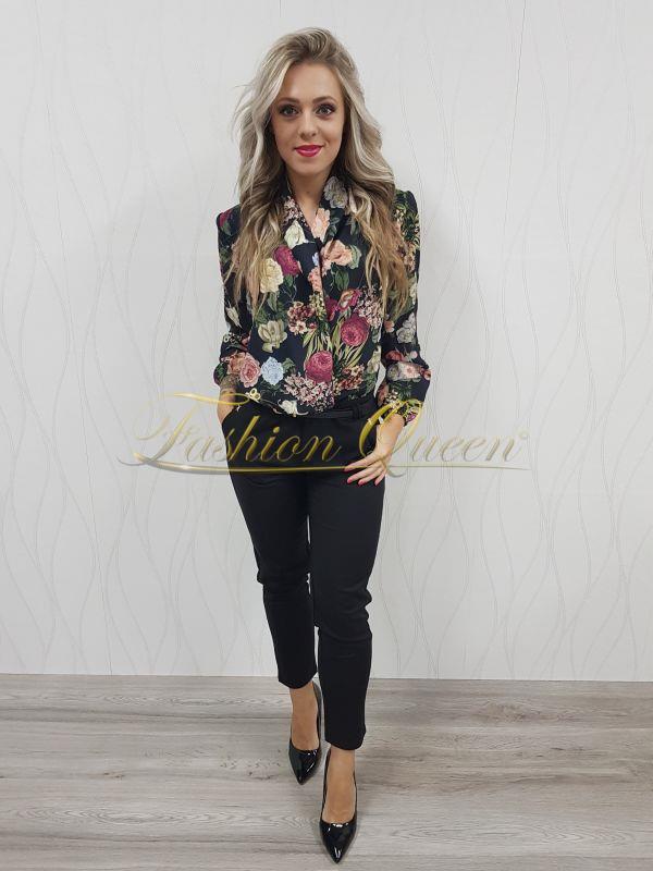 5bd97bab1e7e Fashion Queen - Dámske oblečenie a móda - Blúzka body kvetovaná