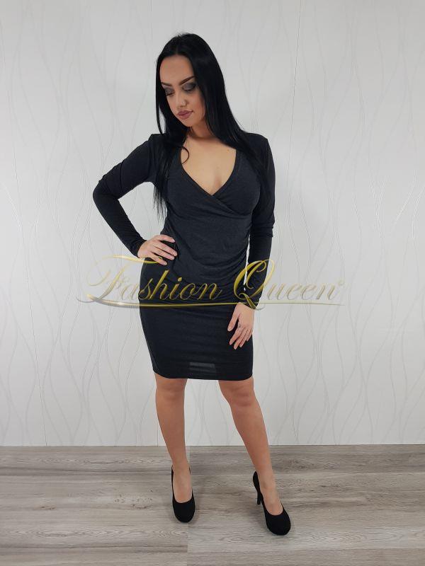 Fashion Queen - Dámske oblečenie a móda - Šaty s výstrihom ce5bb8af135