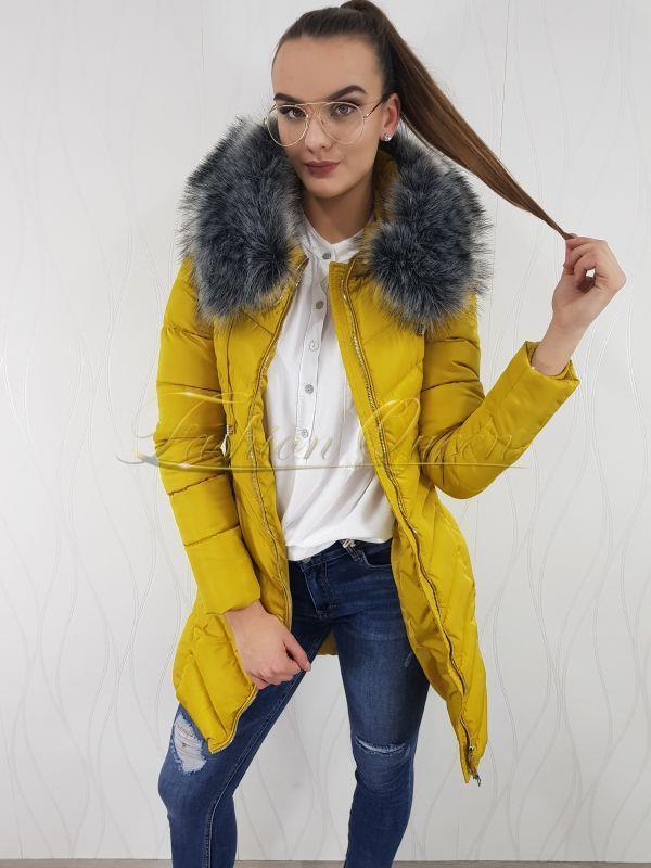 Fashion Queen - Dámske oblečenie a móda - Zimná vetrovka 689d6ad41b8