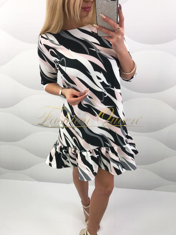 Fashion Queen - Dámske oblečenie a móda - Vzorované šaty bd06ee2c15f