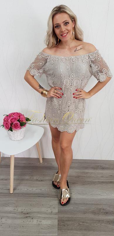 Letné čipkované šaty