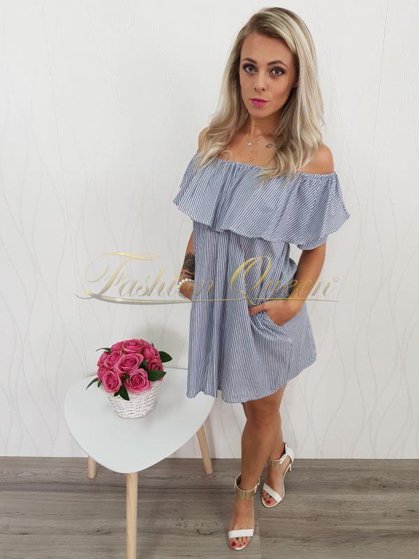 fd13c5d792f8 Fashion Queen - Dámske oblečenie a móda - Pásikavé oversize šaty