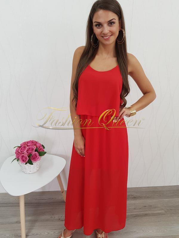 8074ebebf0b4 Fashion Queen - Dámske oblečenie a móda - Červené dlhé šaty