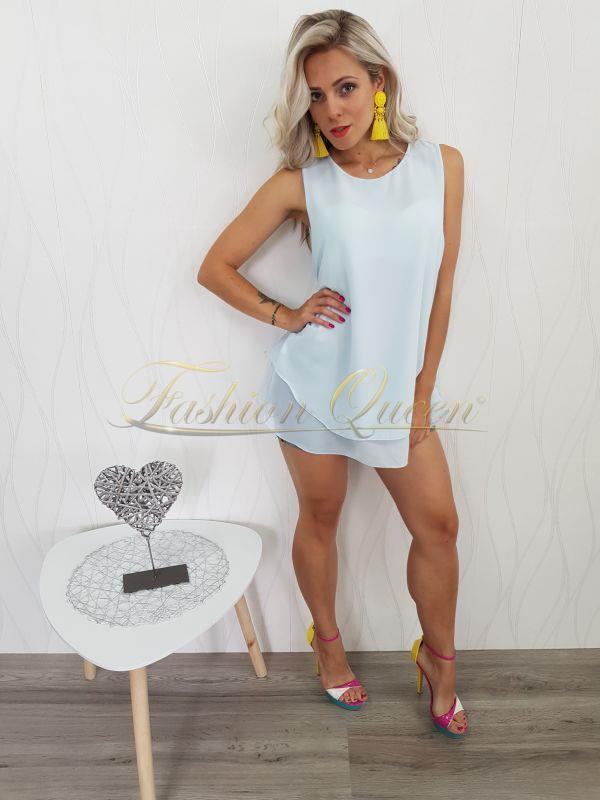 ceb4abcb8254 Fashion Queen - Dámske oblečenie a móda - Tyrkysový top